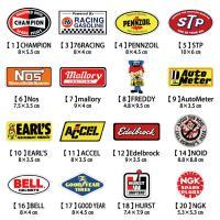 アメリカンレーシングステッカー 自由に選べる5枚セット!!1枚で買うより超お得!!