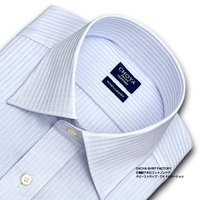 ■長袖ワイシャツ ■綿100%  ■形態安定アポロコット ■衿:ワイドカラー    ■カフス:アジャ...
