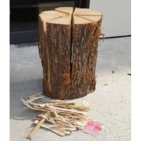 ◆サイズ:直径約20cm高さ約40cm ◆セット内容:着火剤・着火支援木片 ◆素材:ウバメガシ ◆燃...