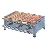 ◆型式:10穴-3連 ◆サイズ:496×310×182mm ◆ガス消費量:  天然ガス(13A)/4...