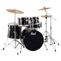 Pearl ROADSHOW RS525SCW/C #31 JET BLACK ドラムセットパール、...