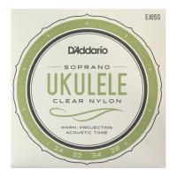 D'Addario EJ65S Clear Nylon ウクレレ弦