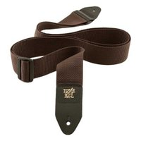 ERNIE BALL(アーニーボール)POLYPRO STRAPS 4052 Brown ギタースト...