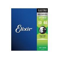 ELIXIR 19052 Optiweb Light 10-46 エレキギター弦コーティング弦のトッ...