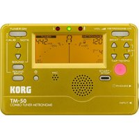 KORG TM-50-GD チューナー メトロノーム ゴールド抜群の存在感を示すゴールドが登場。チュ...