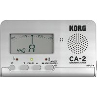 KORG CA-2-SL クロマチックチューナー シルバー品のあるシックなシルバー・モデルが限定で登...