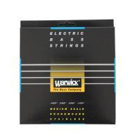 ハンドメイドのステンレス弦です。極めて正確な音の立ち上がりや、豊かな低域、ブライトなサウンドが特徴で...