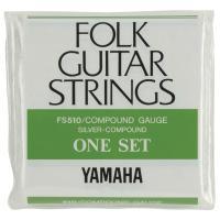 YAMAHA FS510 アコースティックギター弦ヤマハのフォークギターセット弦です。コンパウンドゲ...