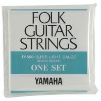 YAMAHA FS550 アコースティックギター弦ヤマハのフォークギターセット弦です。スーパーライト...