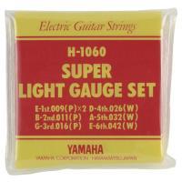 ヤマハ H1060 エレキギター弦 です。エレキギターのセット弦(スーパーライトゲージ)です。(00...