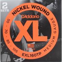 D'Addario(ダダリオ) EXL160TP/Medium 2セットパック ベース弦 です。ダダ...