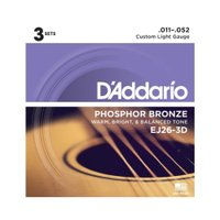 D'Addario(ダダリオ) EJ26-3D アコースティックギター弦/3セットパック です。『C...