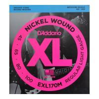 D'Addario EXL170M ミディアムスケール ベース弦ダダリオミディアムスケールベース弦で...