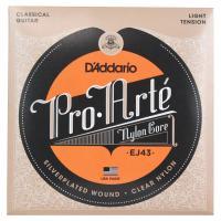 D'Addario Pro-Arte EJ43 クラシックギター弦すべてのプロアルテの高音弦は、自社...