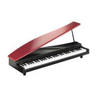 microPIANOはグランド ピアノのように反響板がついたデザインのかわいいデジタル ピアノ。ミニ...