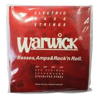 WARWICK 42200 RED stainless steel 4-string Set M 0...