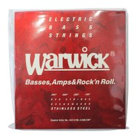 WARWICK 42210 RED stainless steel 4-string Set ML ...