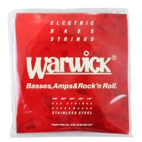 WARWICK 42301 RED stainless steel 5-string Set M 0...