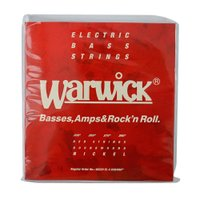 WARWICK 46220 RED nickel 4-string Set EL 030-090 ベ...