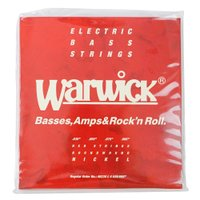 WARWICK 46230 RED nickel 4-string Set L 035-095 ベー...