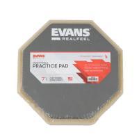 EVANS ARF-7GM ドラム練習パッド標準的な8ミリ径ねじのシンバルスタンドや専用スタンドに取...