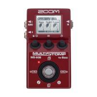 ZOOM MultiStomp MS-60B ベースエフェクターMS-60Bは、52種類のエフェクト...