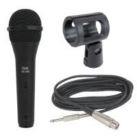 iSK DM-3600 ボーカル用マイク 5Mケーブル付きボーカル、カラオケ、イベントスピーチ等様々...