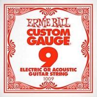 ERNIE BALL 1009 ギター用バラ弦×6本アーニーボールの高硬度のスズ・メッキを施したハイ...
