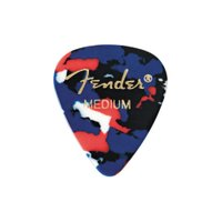 Fender 351 Shape Classic Picks Confetti Medium ギターピック×12枚