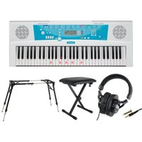 鍵盤のガイドが光り初めてでもすぐに楽しめるヤマハの電子キーボード「EZ-J220 PORTATONE...