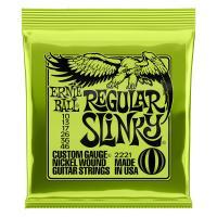 アーニーボール 2221/Regular Slinky エレキギター弦です。レギュラースリンキーゲー...
