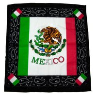 メキシコ国旗バンダナ
