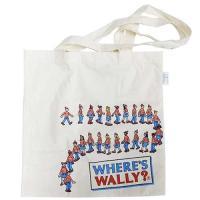 エコバッグ ウォーリーを探せ エコマーク付コットンバッグ こどもたち スモールプラネット 38×38cm