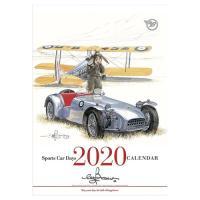 2020年 カレンダー BOW。            壁掛け SPORTS CAR DAYS 42×30cm 9月中旬発売予定 車