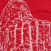 【SALE】エーライフ ドクターリボルト 2 S/S Tシャツ レッド ALIFE Dr.Revolt 2 S/S TEE Red