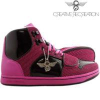 【SALE】クリエイティブ レクリエーション セサリオ ウィーメンズ ブラック/ホットピンク CR8 WCR439 CESARIO WOMENS Black/Hot Pink