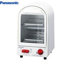 オーブントースター パナソニック 縦型 おしゃれ 人気 コンパクトに置ける2階建てデザインの縦型トー...