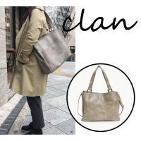 トートバッグ クラン(Clan) 2way ビジネスバッグ A4対応 メンズ レディース ショルダーバッグ PCバッグ