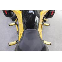BRP Can-Am SPYDER F3 ダイキャスト フットペダル イエローアルマイト 4個セット...