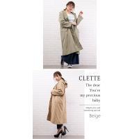 大きいサイズ レディース フードデザインロングジャケット|clette-online|05