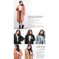 大きいサイズ レディース ロング丈チェスターコート|clette-online|06