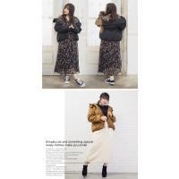 大きいサイズ レディース 中綿フードデザインコート|clette-online|05