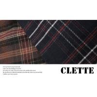 大きいサイズ レディース 長袖ロングチェックシャツ|clette-online|06