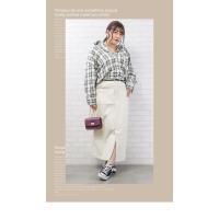 大きいサイズ レディース 長袖チェック柄シャツ|clette-online|07