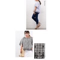 大きいサイズ レディース 裾スカラップスモックブラウス|clette-online|07