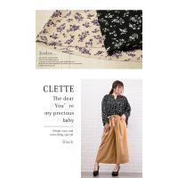 大きいサイズ レディース シャーリングデザイン花柄ブラウス|clette-online|05