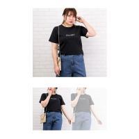 大きいサイズ レディース 刺繍ロゴTシャツ|clette-online|06