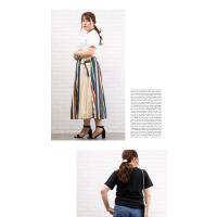 大きいサイズ レディース 刺繍ロゴTシャツ|clette-online|07