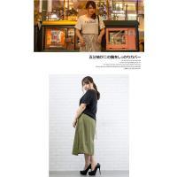 大きいサイズ レディース cletteオリジナル★ボックスロゴプリントTシャツ clette-online 08