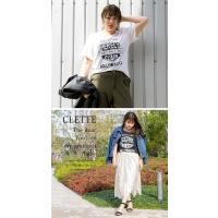 大きいサイズ レディース cletteオリジナル★UVカットエンブレムプリントトTシャツ|clette-online|06